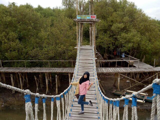 Jembatan goyang di MJAA