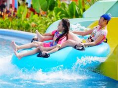 keceriaan bermain di merci waterboom