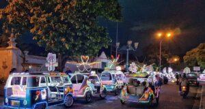 Kereta hias di Alkid Yogyakarta
