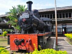 Lokomotif C2001 Museum Kereta Api Ambarawa