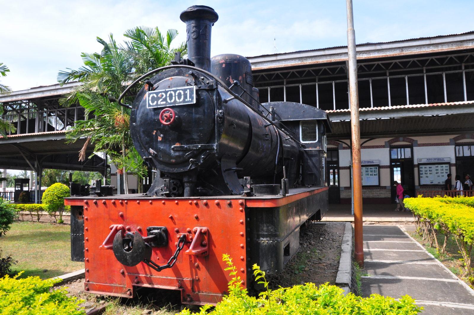 Hasil gambar untuk museum kereta ambarawa