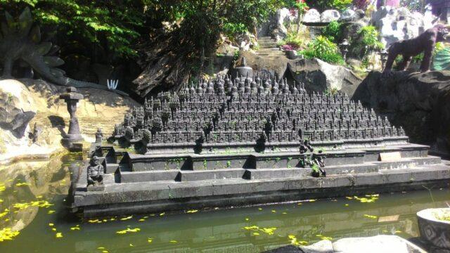 miniatur Candi Borobudur di Tlogo Mas Park