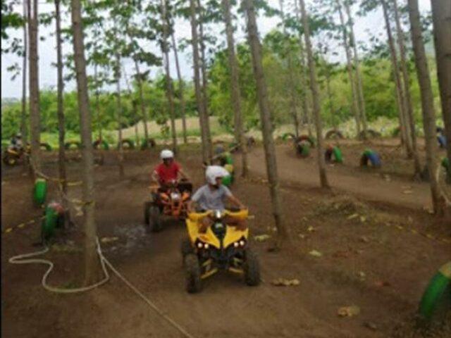 Motor ATV di taman hammock bukit dhoho indah kediri