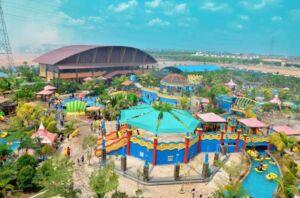Area water park OPI Water fun Palembang