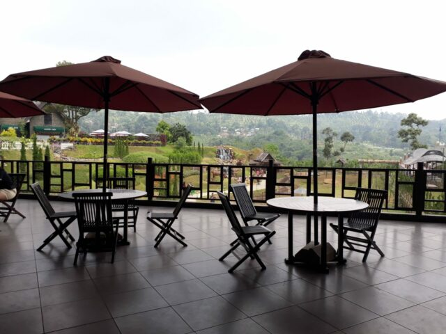Pemandangan The Ranch Puncak