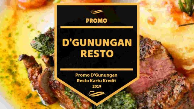 Promo D'Gunungan Resto