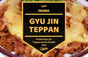 Promo Gyu Jin Teppan
