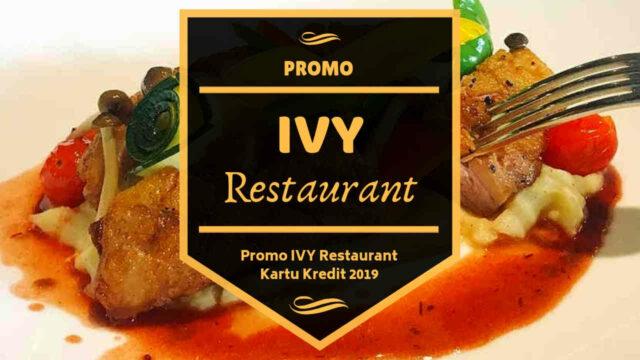 Promo Ivy Restaurant