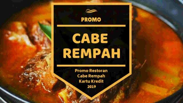 Promo Restoran Cabe Rempah