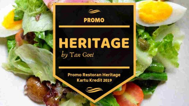 Promo Restoran Heritage