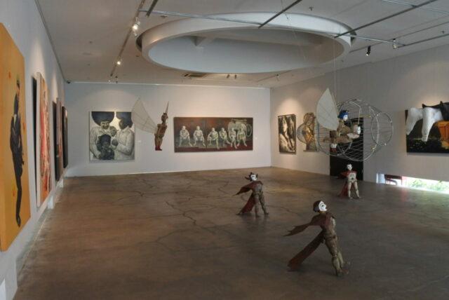 Ruang pameran seni di Art:1 Museum