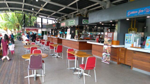 Area Indoor Pasar Ah Poong