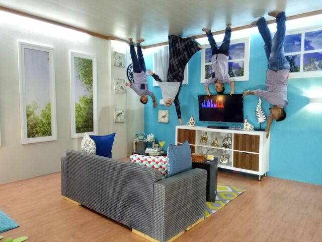 Spot foto ruang keluarga