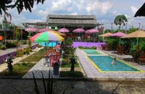 kolam anak Bale Tani Jombang