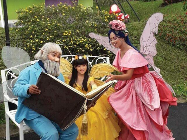 Wahana lola's library di fairy Garden Lembang