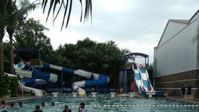 kolam dan wahana tridas waterpark tambun
