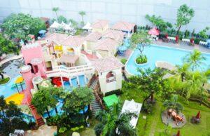 area kolam dan wahana permainan matador waterpark