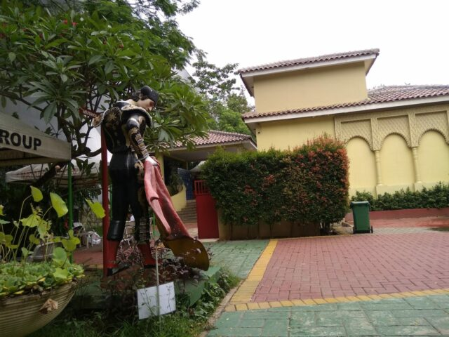 Foto Bersama ikon matador