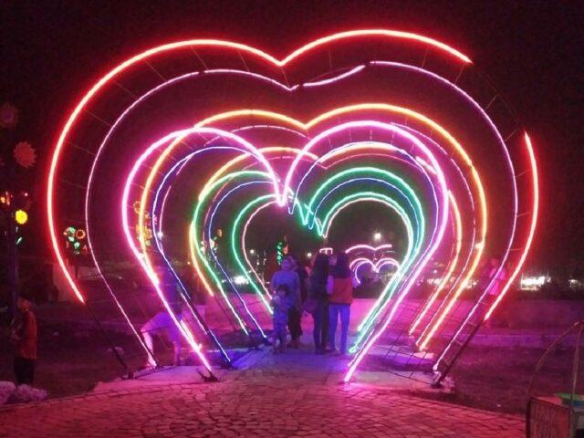 Lampu Hati di Taman Sehati