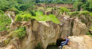 Lanskap area Tebing Koja Kandang Gozila