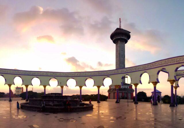 menara al-husna mesjid agung jawa tengah