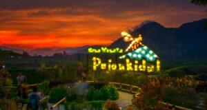 Sunrise di Desa Wisata Pujon Kidul