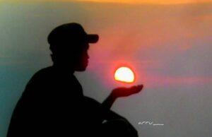 sunset di Cadas Gantung Majalengka