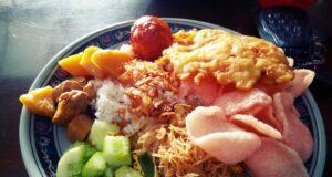 Nasi Uduk & Ketupat Sayur Encim Sukaria Pasar Lama Tangerang