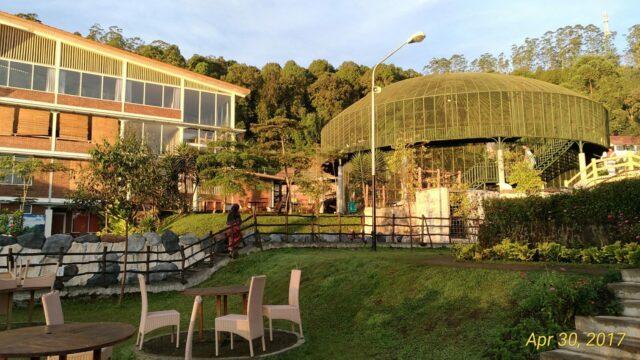 Pemandangan area di sekitar Resort