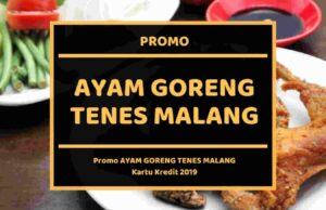 Promo Ayam Goreng Tenes Malang