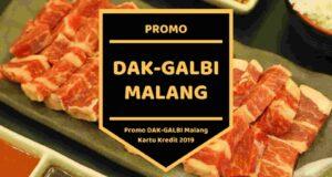 Promo DAKGALBI Malang