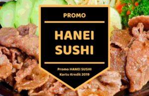 Promo Hanei Sushi