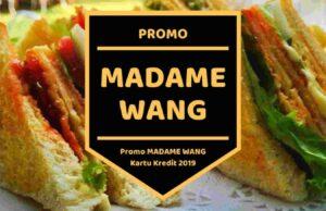 Promo Madame Wang
