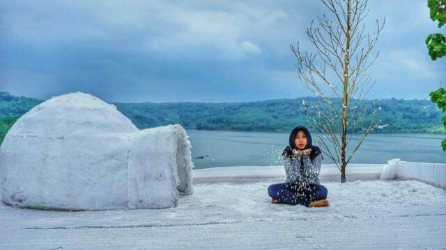 spot foto rumah eskimo