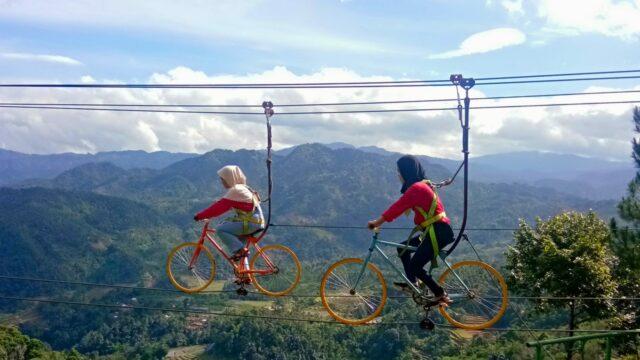 Sepeda Layang Wisata Panorama Pabangbon
