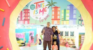 spot selfie donuts this is me bandung