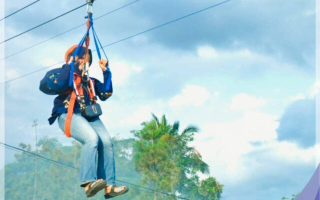 wahana out-bond Flying Fox