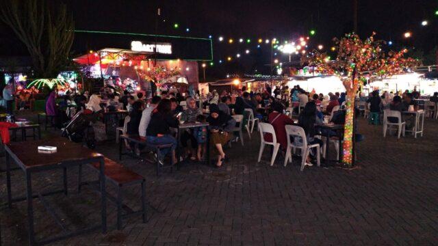 area restoran wisata kuliner pasar parkiran