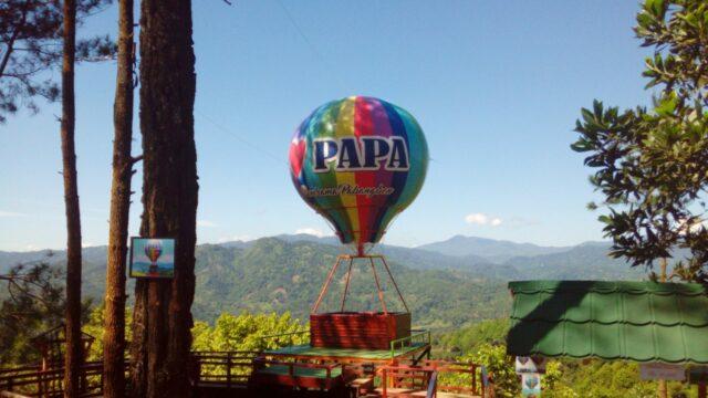 Keindahan panorama perbukitan Wisata Panorama Pabangbon