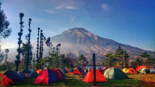 berkemah camping di embung kledung