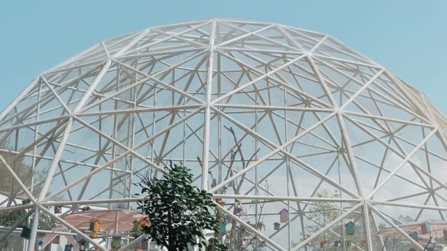 bird dome the village baturaden purwokerto jawa tengah