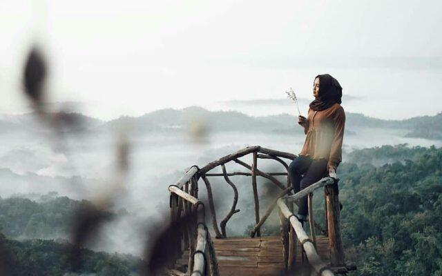indahnya panorama dari gardu pandang