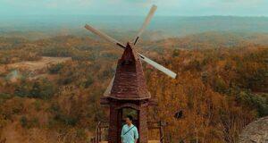 kincir angin ala negeri belanda.seribubatu_songgolangit