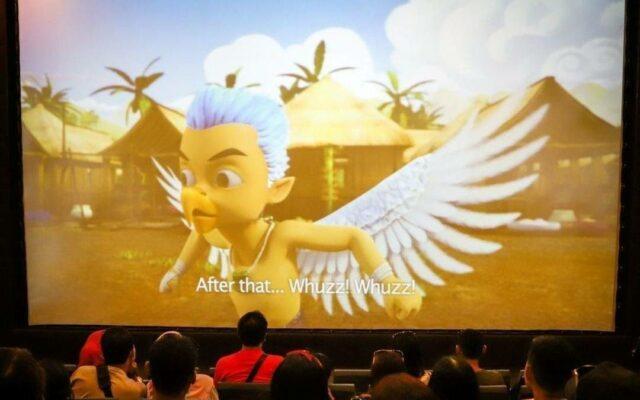penayangan Petualangan Garuda Cilik di Garuda Cinema di GWK Bali
