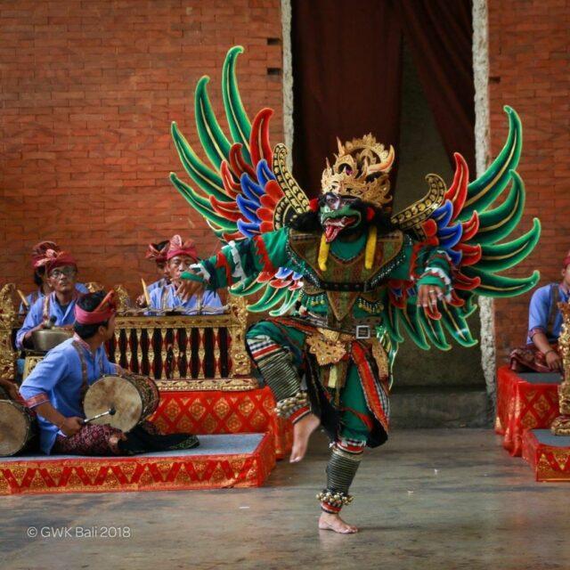 pertunjukan Garuda Wisnu Ballet