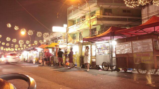 suasana di salah satu sudut Pasar Lama Tanggerang