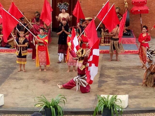 tarian Nusantara di Garuda Wisnu Kencana