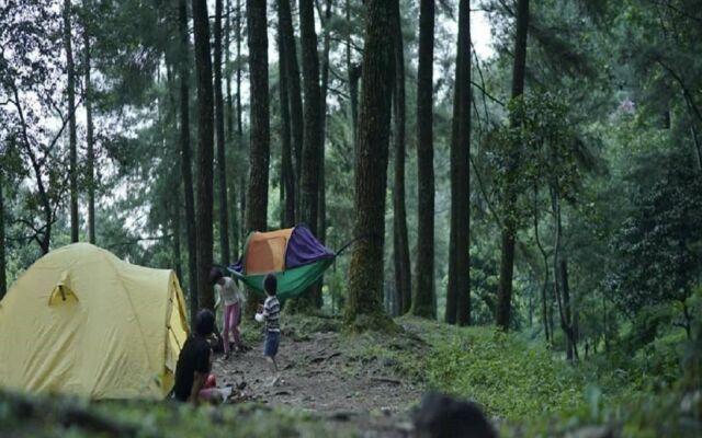 camping ground lokasi berkemah di curug nangka