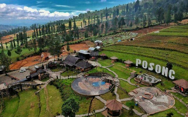 Area Taman Wisata Posong Temanggung Jawa Tengah