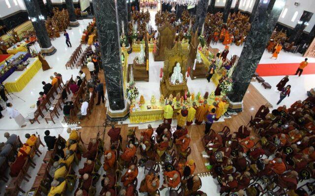 Area bangunan utama dengan fungsi pokok sebagai area peribadatan umat Buddha